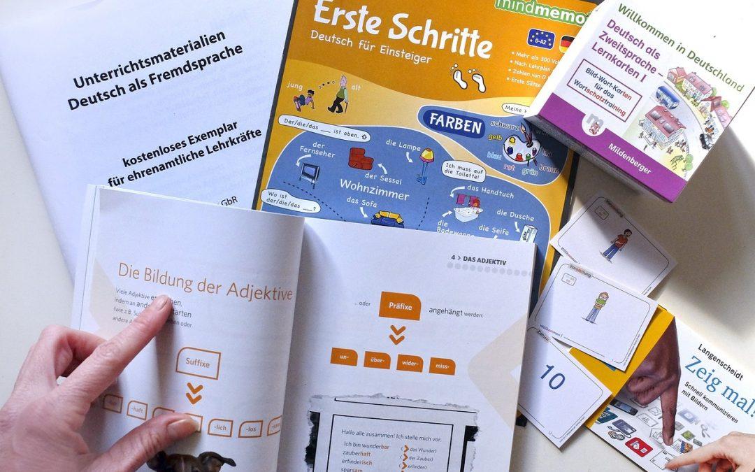 In een snelle tijd de Duitse taal leren